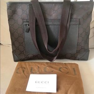 Authentic Classic GUCCI TOTE BAG Neverfull New